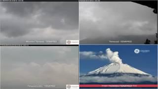 Popocatepetl - 20160531 - 12:00 a 18:00 hrs