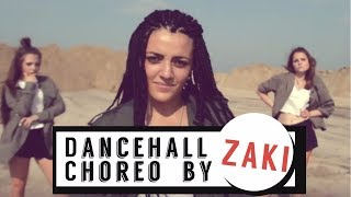 Dancehall Choreo by Zaki (I-Town Family)  Lethal Bizzle ft. Stefflon Don - Wobble