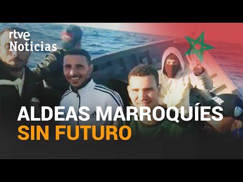 Jóvenes MARROQUÍES abandonan sus aldeas en busca de un FUTURO en EUROPA | RTVE Noticias