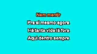 Karaokê Lulu Santos -  Como uma onda