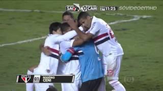 São Paulo 2 x 0 Atlético MG - Libertadores 2013 - 17042013 (Globo HD)