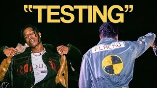 """A$AP ROCKY """"TESTING"""" SNIPPETS."""