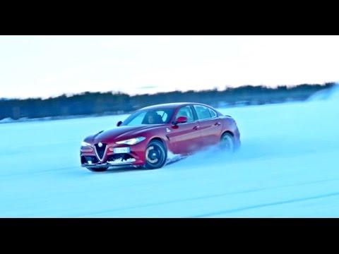 DRIFTING In The Alfa Romeo GIULIA QUADRIFOGLIO!!