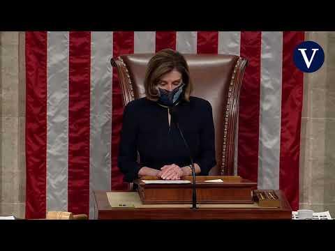 La Cámara de Representantes aprueba el segundo 'impeachment' de Trump