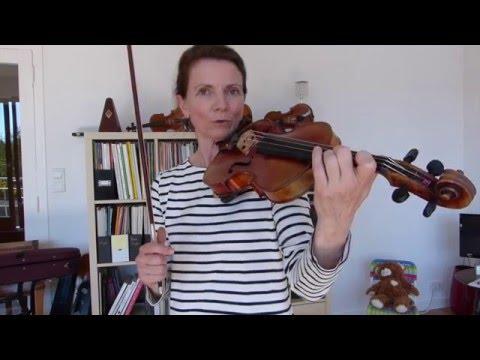 Comment poser les doigts sur le violon