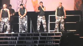 invisible man-98 degrees  live in Greenville SC