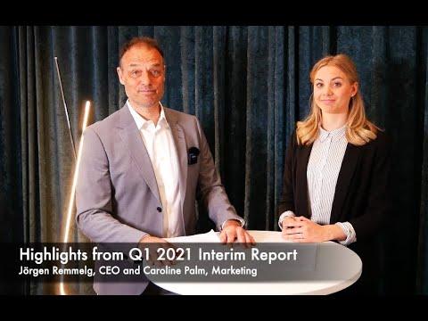 XMReality 2021 Q1 report highlights