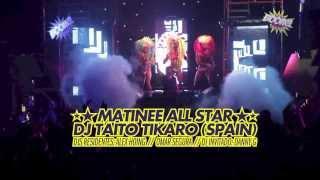 """MATINÉE CALI  """"STARSHIP"""" DJ TAITO TIKARO"""