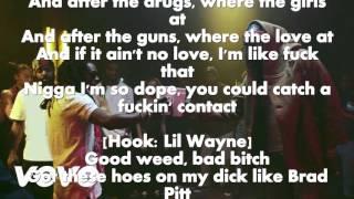 2 Chainz - Bounce (Explicit) ft. Lil Wayne, LYRICS