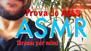 ASMR Brasil (em Português) - Prova de Medicina
