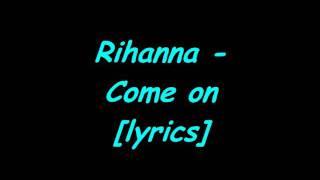 Rihanna - S&M lyrics
