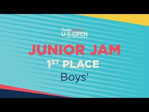2019 Burton U·S·Open Junior Jam Halfpipe ? Boys? 1st Place Run