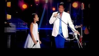 "Roberto Carlos cantando ""Ben"" de Michael Jackson"