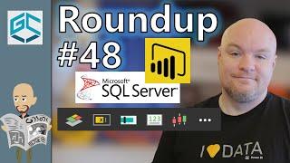 DAX, Custom Data and Visuals for Power BI - Roundup #48