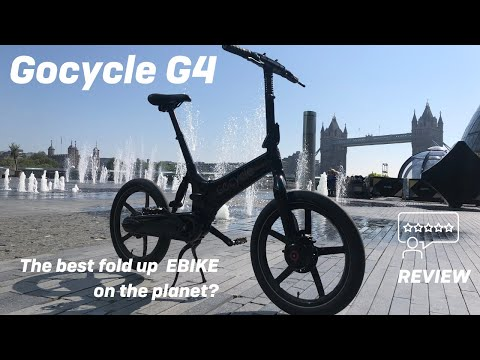 Gocycle G4 2021 | The best fold-up electric bike on the planet?
