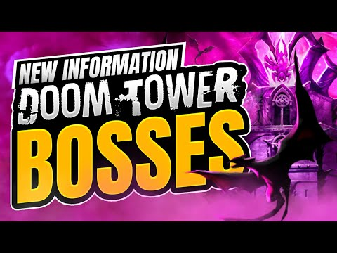 NEW INFORMATION ON BOSSES - Raid Shadow Legends [Doom Tower]