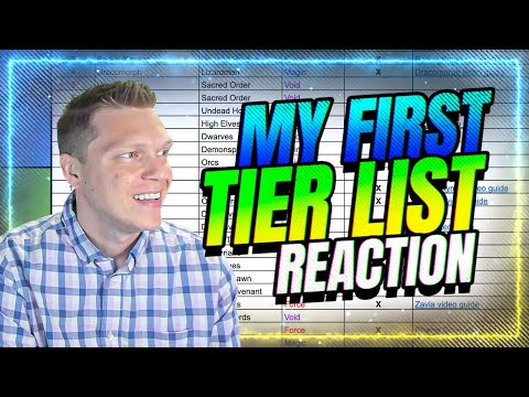 😆ChoseN Reacts to First Tier List He Ever Made! | RAID Shadow Legends