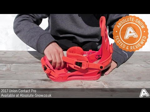 2016 / 2017 | Union Contact Pro Snowboard Bindings | Video Review