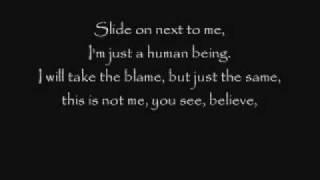 PEARL JAM The End lyrics