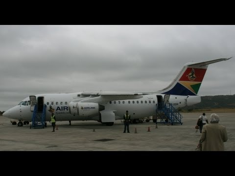 My Flight to Cape Town