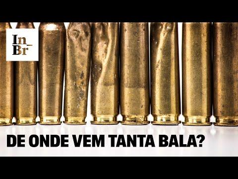 Rodamos as ruas do Rio depois de tiroteios e achamos balas fabricadas até na Europa da Guerra Fria