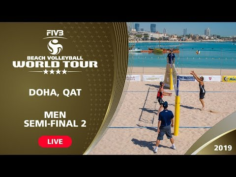 Doha 4-Star 2019 - Men Semi-Final 2 - Beach Volleyball World Tour