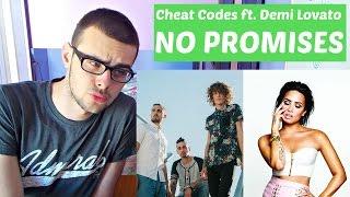 CHEAT CODES - NO PROMISES FT. DEMI LOVATO AUDIO ( REACTION )