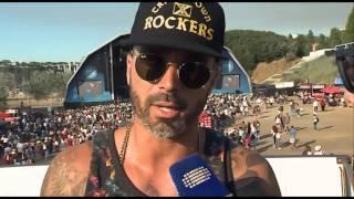 Entrevista a Dengaz   MEO Marés Vivas 2016   RTP