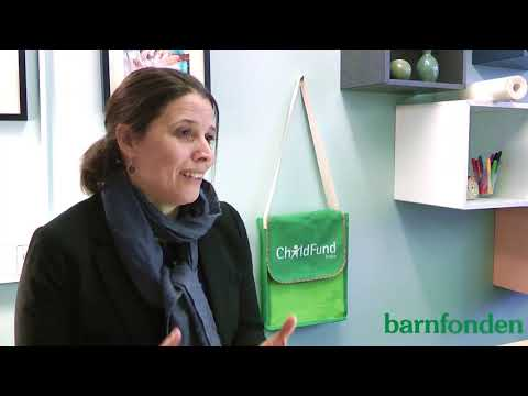 Intervju med Martina Hibell, generalsekreterare i Barnfonden.