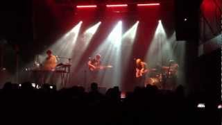 """Alt-J Intro """"An Awesome wave"""" - Live in Milan, Magazzini Generali 30.11.2012"""