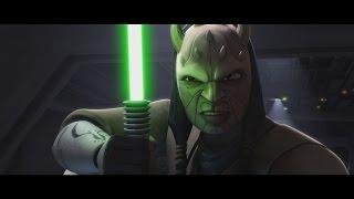 Star Wars: The Clone Wars - Eeth Koth vs. General Grievous [1080p]