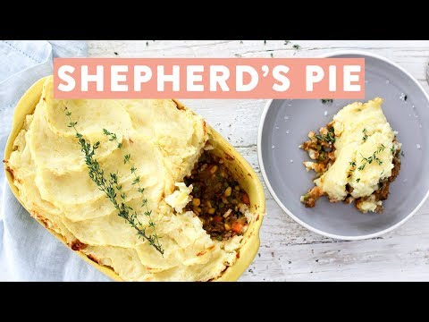 Turkey Lentil Shepherd's Pie Recipe | Healthy Family Dinner Ideas