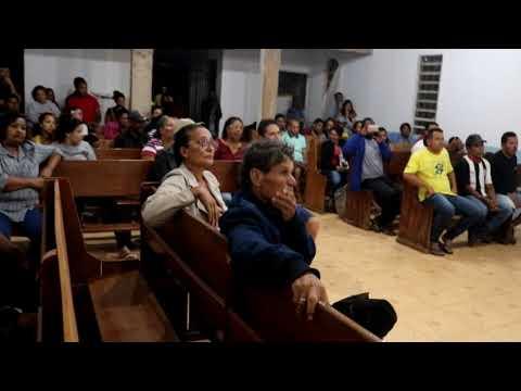 DR. CARLOS EXPLICA PARA MORADORES COMO ESTÁ O PROCESSO DA DECISÃO DA REMOÇÃO DO SETOR  SANTA LUZIA