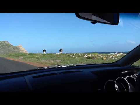 South Africa Trip – Driving To Cape Of Good Hope Monument