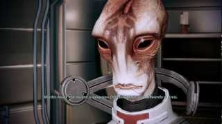 Mass Effect 2: Mordin about Garrus romance