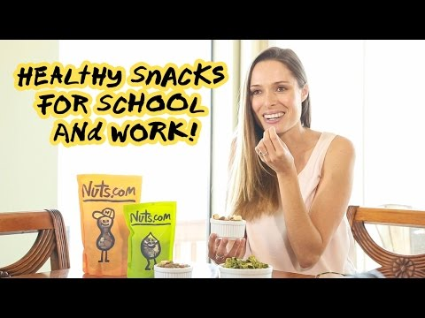 3 Healthy Snacks For School or Work | Nuts.com