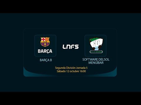 Barça B - Software DELSOL Mengíbar