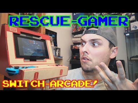 Rescue-Gamer: Nintendo Switch Arcade