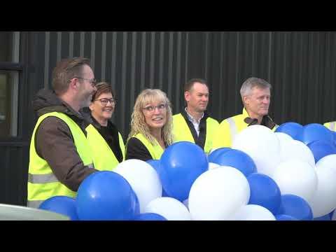 Ny 3.000 m2 stor Lindab produktions- og lagerhal