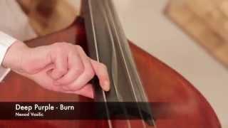 Deep Purple Burn on Double Bass ///Nenad Vasilic