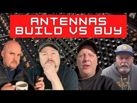 Antennas - Build vs Buy?