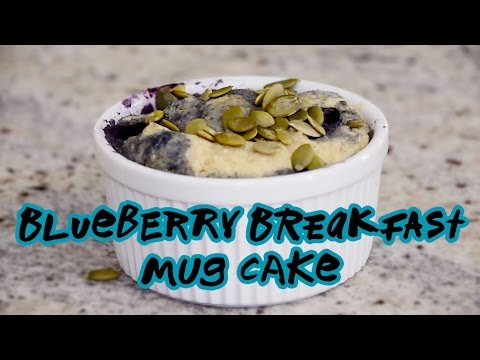 Blueberry Breakfast Mug Cake Recipe | Nuts.com
