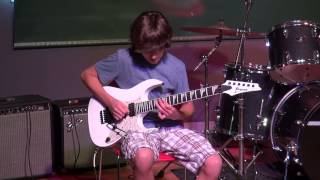 Guitar Shred -- Ben   School of Rock -- New Canaan -- 06 19 14