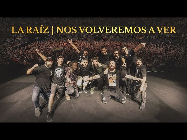 """""""Nos Volveremos a Ver"""" (Propaganda pel fet! 2018), grabado en directo el 28 de Octubre de 2017 en el Palacio de Vistalegre (Madrid)."""