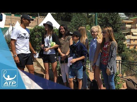 ATP Stars Meet Fans At Monte-Carlo 2017
