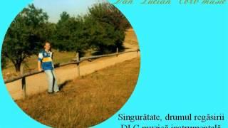 Singurătate, drumul regăsirii Dan Lucian Corb muzică instrumentală