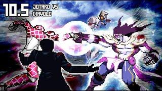 [BONUS What-If] Jotaro VS Diavolo (Star Platinum VS King Crimson).