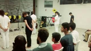 Grupo Intimidade Plena - Coreografia Nação dá Cruz