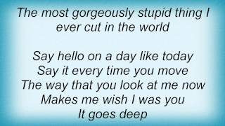 Cure - A Night Like This Lyrics
