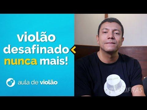 VIOLÃO DESAFINADO NUNCA MAIS!